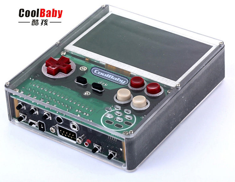 2018 new for coolbaby X7 4.3inch 8-bit DIY RETRO Handheld Game Console Portable Mini Video Gaming Players for kids gift
