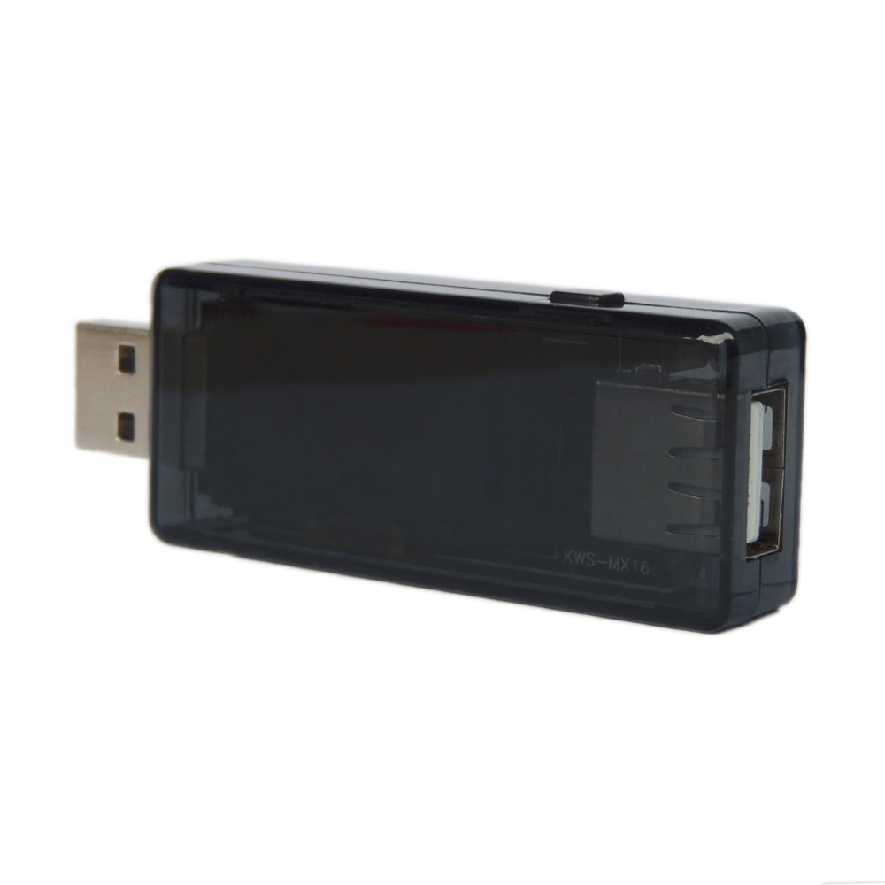 USB Multi Function Tester 4~30V Voltmeter Ammeter Current Voltage Capacity Monitor Power Bank Detector KWS-MX16