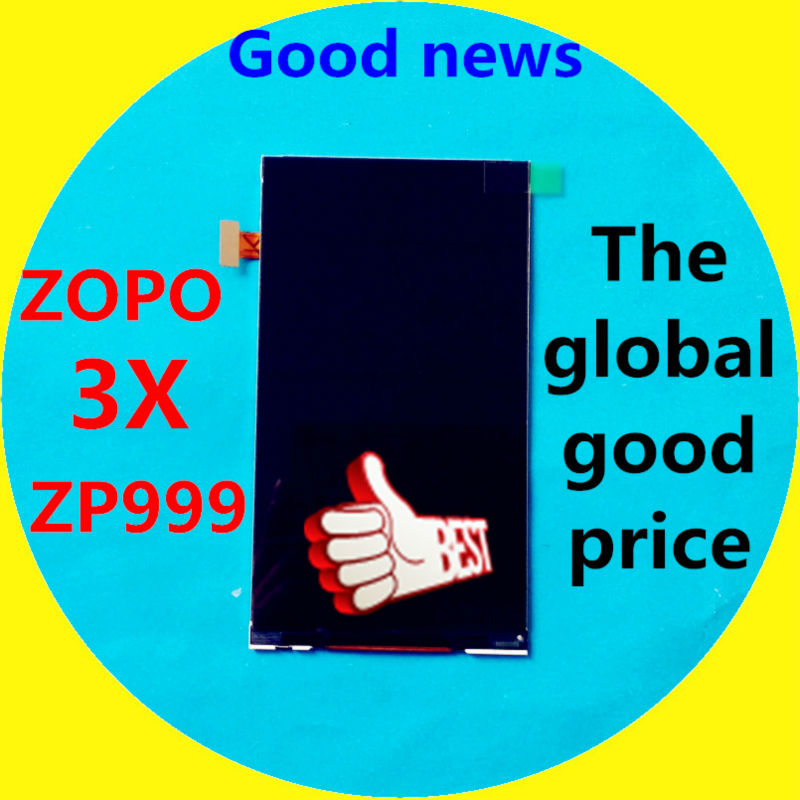 In Stock!!! LCD Display Screen For ZOPO 3X ZP999 1920*1080 Cell Phone 5.5 without touch screen