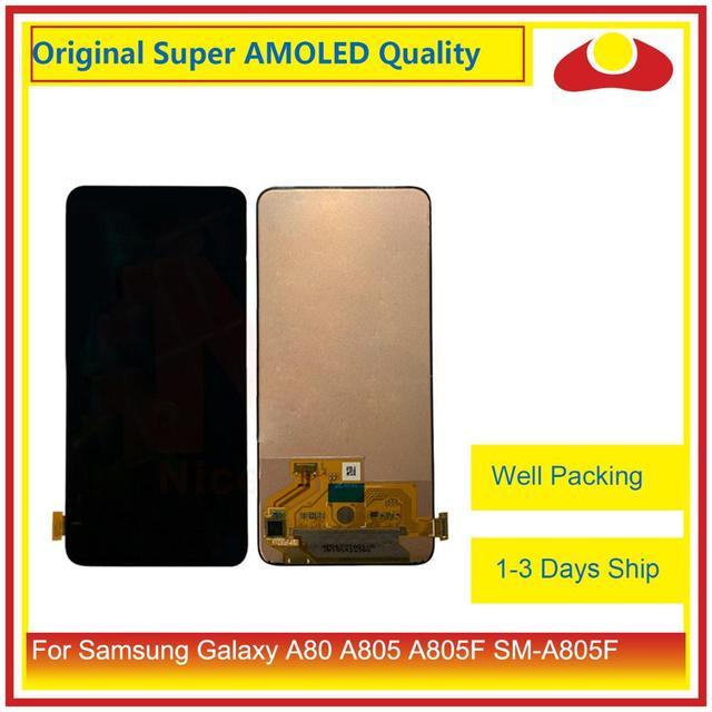 """Originale 6.7 """"Per Samsung Galaxy A80 A805 A90 A905 A805F SM 805F Display LCD Con Pannello Touch Screen Digitizer Pantalla completo"""