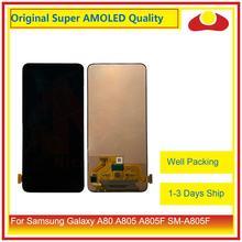 """Oryginalny 6.7 """"dla Samsung Galaxy A80 A805 A90 A905 A805F SM 805F wyświetlacz LCD z ekranem dotykowym panel digitizera Pantalla pełna"""