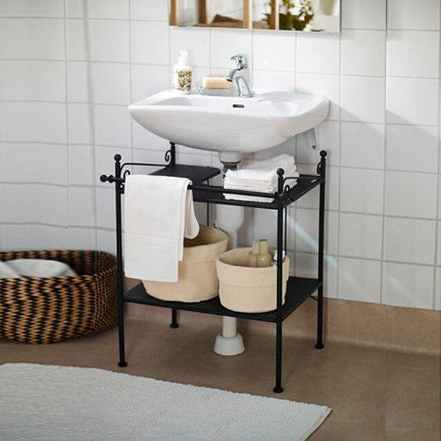 Factory Direct Iron Floor Bathroom Cabinet Washbasin Cabinet Base Cabinet  Bathroom Cabinet Lockers