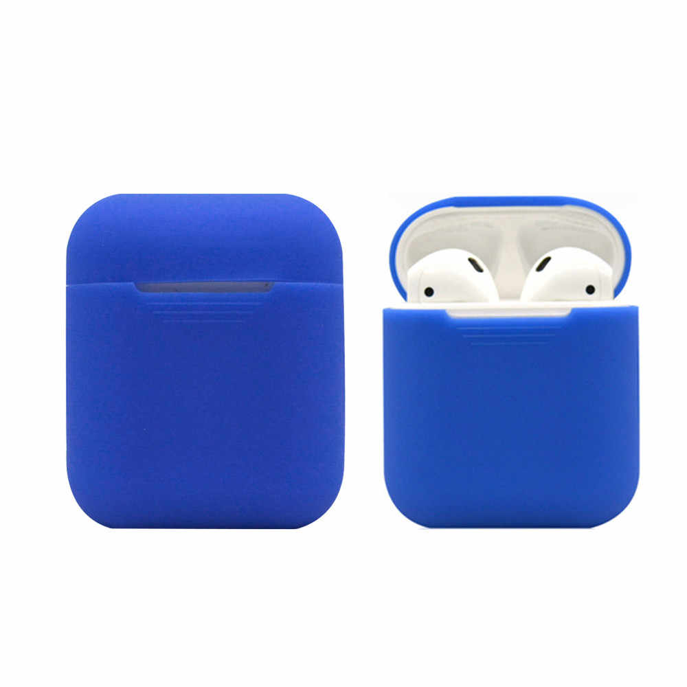 Protective Cover Waterproof for iphone For AirPods Soft Silicone Case Cover Protective Skin for Apple Airpod Charging Case sport