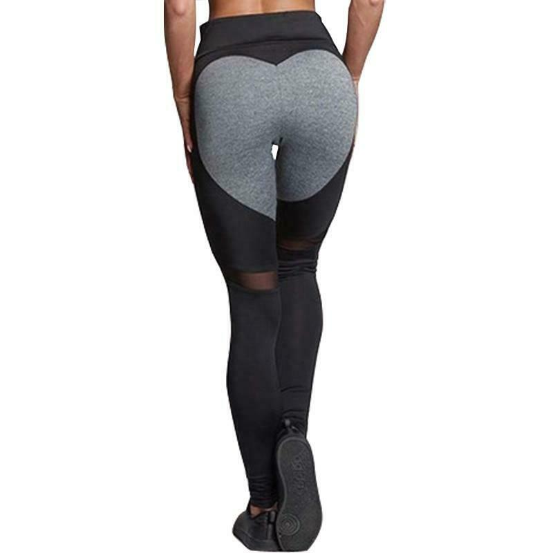 Sexy Yoga Pants Push Up Leggings Sport Women Fitness High Waist Summer Pants Ladies Gym Leggings Women Black Grey Femme