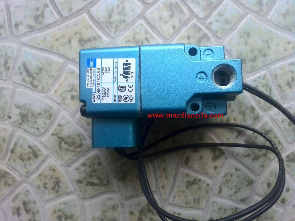 New American MAC high speed solenoid valve 225B-121CAAA AC220V mac high speed solenoid valve 34b aba gdfa 1ka