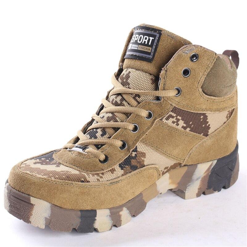 Men Desert Military Tactical Boots Male Outdoor Camouflage Hiking Shoes Sneakers Man Breathable Non-slip Climbing Shoes Aa11994 Uhren & Schmuck Modeschmuck