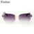 FEISHINI Роскошные модные Óculos Сексуальные Sunlass HD CR39 Линзы Негабаритных Старинные Оправы Очки Женщин Бренд Дизайнер 2017