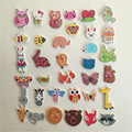 50PCs Scrapbooking Buttons Wooden Buttons Mixed Animal Bee Owl Hedgehog Bear Dog Elephant Head Buttons Sewing Accessories5-40mm