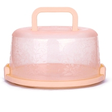 Plastic Round Cake Box Pastry Storage Boxes Dessert Container Cover Case For Birthday Wedding Party Kitchen container паззл gb00622 party
