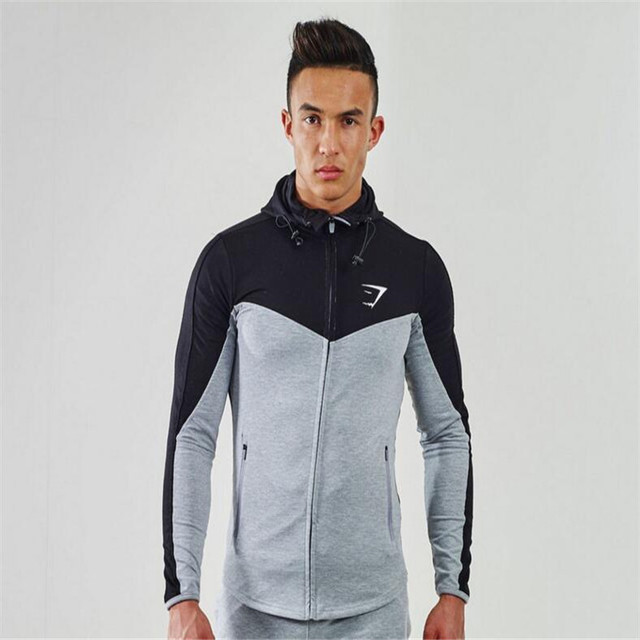 Men Cotton Hoodie Sweatshirts Fitness Clothes Snapback Wear For Clothing Mens Bodybuilding Hoodies Shark Boys Clothes