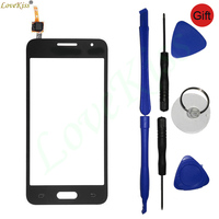 Front Panel Digitizer For Samsung Galaxy Core 2 II G355 G355H Core2 SM G355H Touch Screen