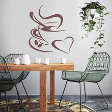 Diy coffee Wall Stickers Home Furnishing Decorative Sticker For Kids Rooms Nursery Room Decor Decal