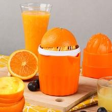лучшая цена Portable Manual Juicer Tool Orange Lemon Fruit Travel Small Extractor Hand Press Cup Juicer Machine KEOUKE D566