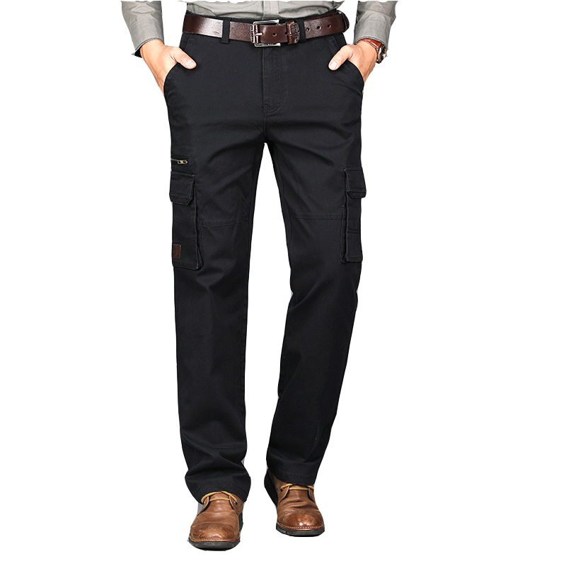 2019 New Men 100% Cotton And More Pocket Tactical Casual Pants Plus Size Overalls Wear Work Trousers Carpenter Pants 5color 5XL
