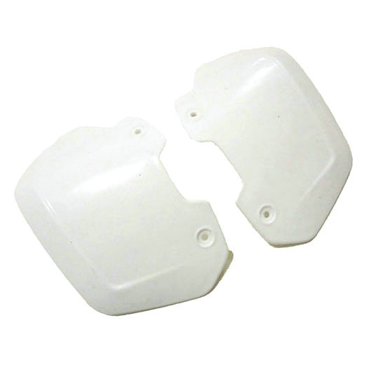 NEW STYLE WHITE UNIVERSAL MOTORCYCLE WHITE HAND GUARDS HANDGUARD SHIELDS for WR YZ 250 450