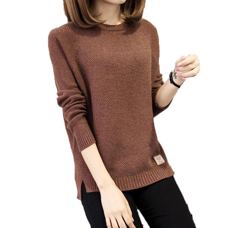 Thick Warm Winter Sweater Women 2018 Knitted Pullover Female Jumper Tricot Pullover Wome ...