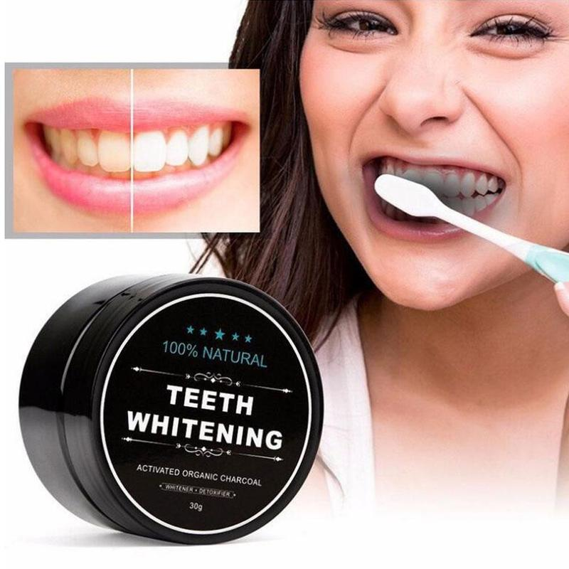 100% Teeth Whiting Activated Carbon Teeth Whitening Organic Natural Bamboo Charcoal Toothpaste Powder Wash Your Teeth White
