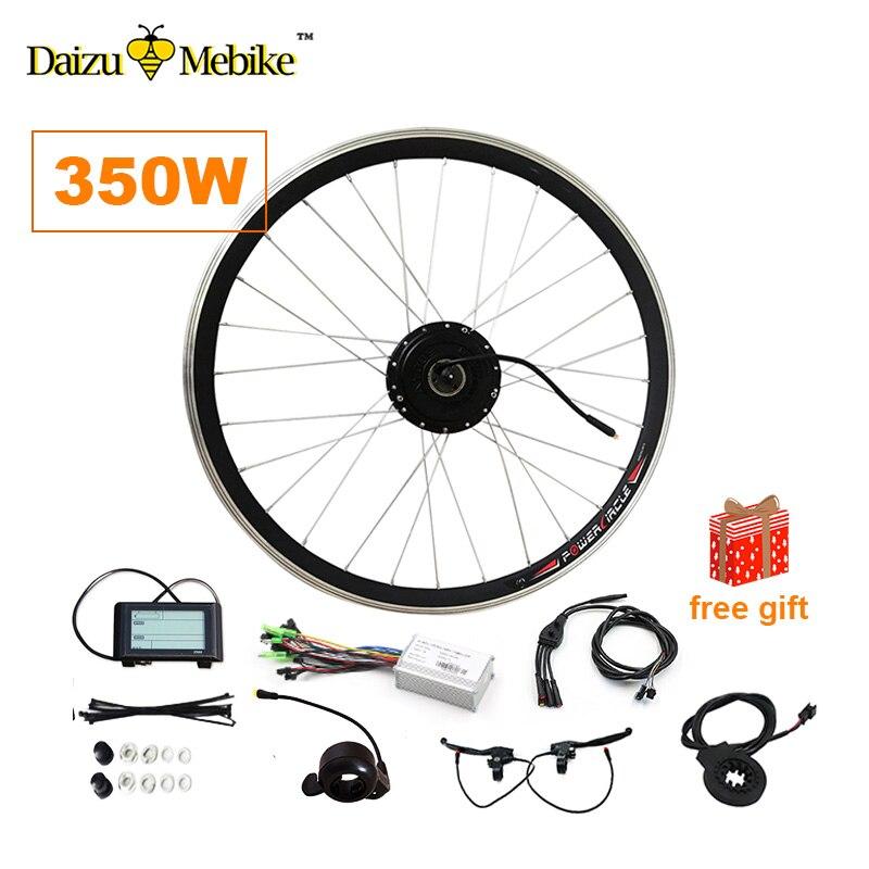 36V350W 48V350W Kit de Conversion de vélo électrique e-bike vélo 20