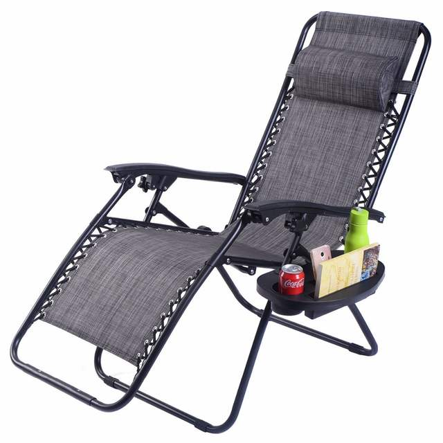 What Is A Zero Gravity Chair Wedding Covers With Ruffles Online Shop Guplus Folding Outdoor Picnic Camping Sunbath Beach Utility Tray Reclining Lounge