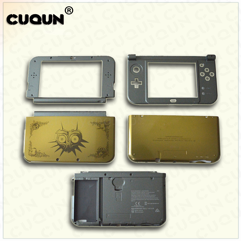 Original Housing Case For new 3DS XL Console Shell Case For new 3DSLL Included 5pcs Without Buttons & Screws