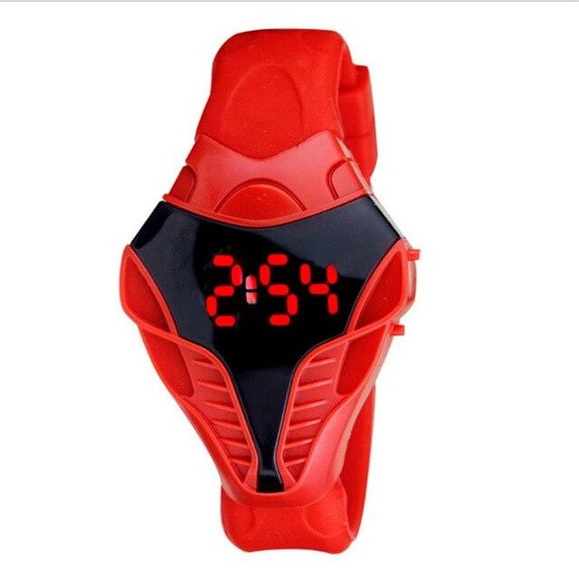 Snakehead Multifunction Digital Watch Men's Sports Watch Silicone LED Watch Stopwatch Alarm Clock Nightlight Christmas Gift