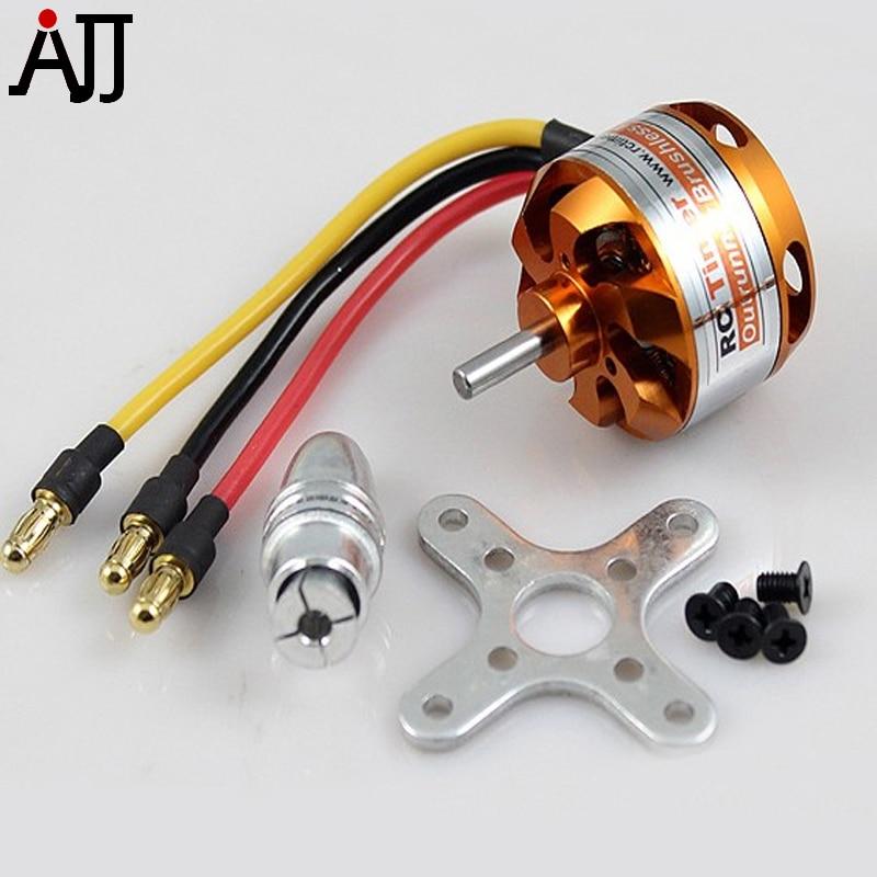 RCTimer 2208 2600KV 1800KV 1450KV Outrunner 1100KV Brushless Moteur 2208/14/8/12/17