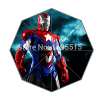 Iron Man Custom Fashion Design Umbrella For Man And Women High Quality Free Shipping Hot Sale