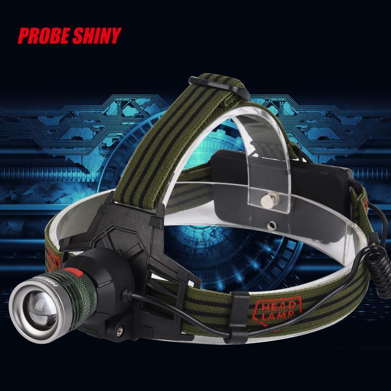 DC 29 Shining Hot Selling Fast Shipping 10000Lm XM L T6 LED Headlamp Headlight Flashlight Head