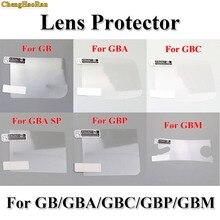 ChengHaoRan 6 pz/lotto LCD Protezione Dello Schermo Pellicola Protettiva per Gameboy Color per GBA GBA SP GBC IT EUR per GBM console