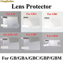 ChengHaoRan 6PCS/LOT LCD Screen Protector Protective Film for Gameboy Color for GBA GBA SP GBC GB GBP for GBM Console