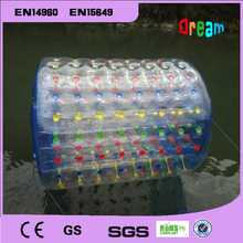 Free shipping!0.8mm PVC inflatable water roller/inflatable rolling ball/inflatable water wheel /water waking zorb ball