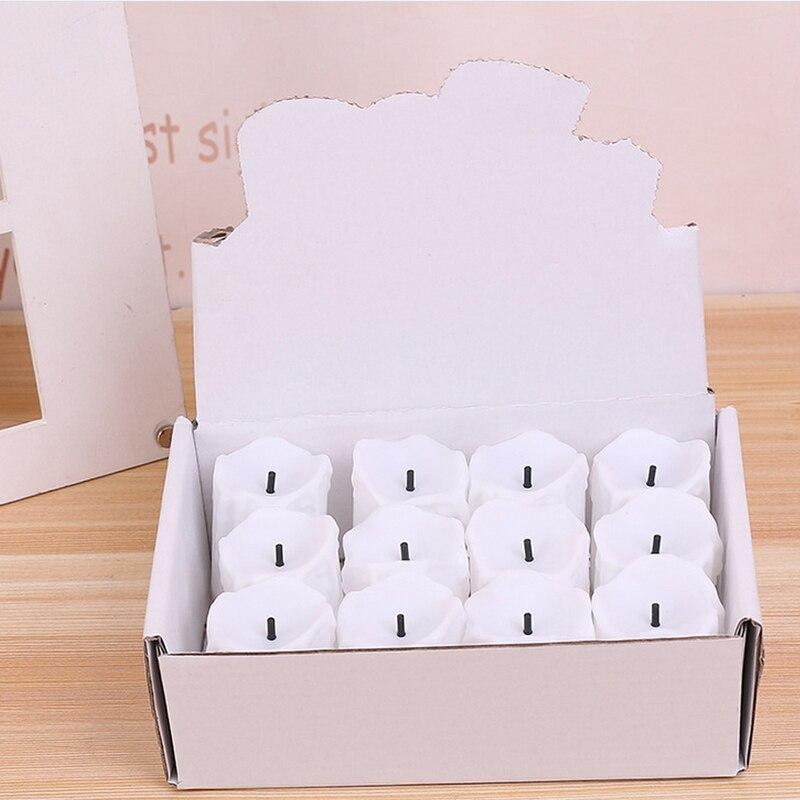12 kom / puno LED električne baterije Powered Tealight svijeće - LED Rasvjeta - Foto 6