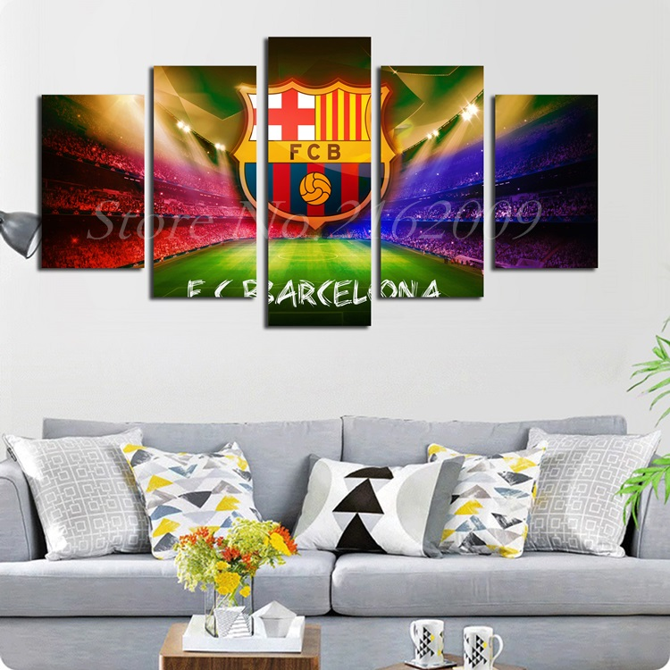 Online get cheap barcelona logos alibaba for Modern home decor games