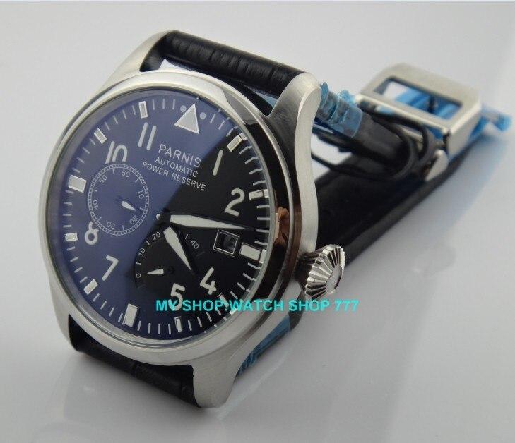 movimento de reserva de energia relógios masculinos mecânicos g003a