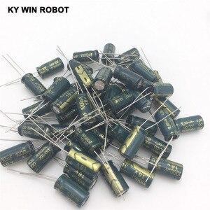 Image 3 - 50 ADET Alüminyum Kapasitörler 1000 uF 108 20% 8*16mm 16 V 1000000nF 1000000000pF Diameter8mm