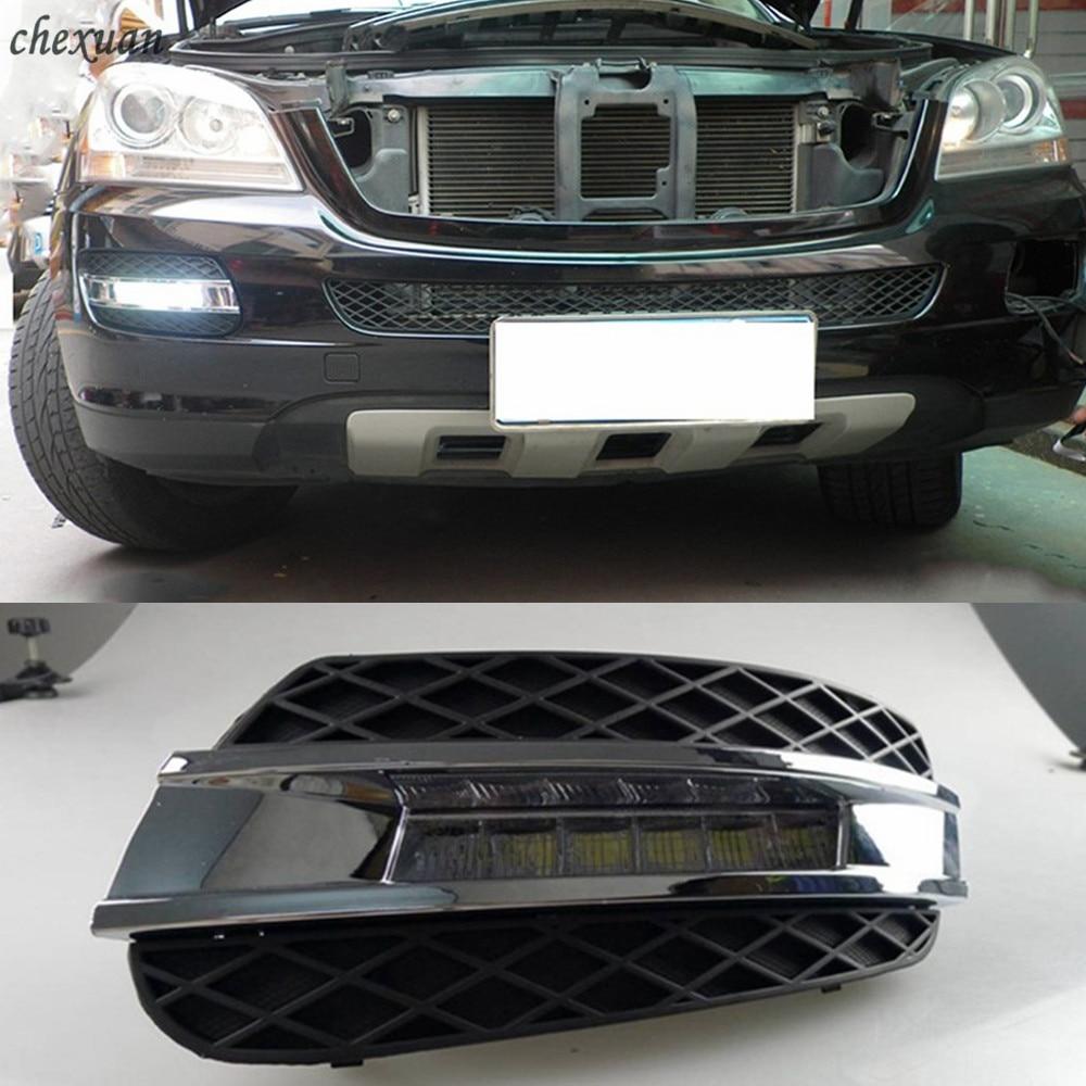 CSCSNL 2PCS 12V ABS LED For Mercedes Benz ML350 W164 ML280 ML300 ML320 2006 2007 2008