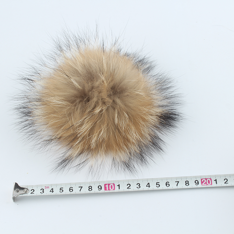 Kids Beanie Baby Real Fur Pompom Hat Earflap Skullies Fleece Inside Twist Knitted Winter Cap For Girls Boys in Men 39 s Skullies amp Beanies from Apparel Accessories