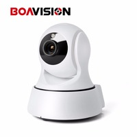 720P WIFI IP Camera Wireless PTZ IR CUT Night Vision Two Way Audio HD 1080P Mini