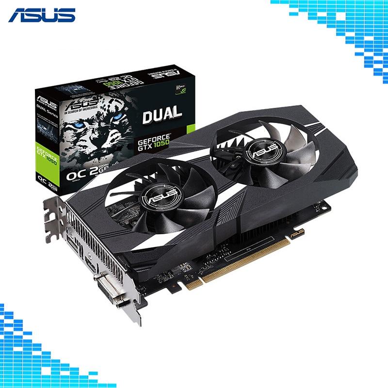 colorful gtx1050ti mini oc 4g gddr5 128bit pci express game video card graphics card 10 3 Asus DUAL-GTX 1050-O2G-V2 Graphics Cards 128Bit GDDR5 PCI Express 3.0 16X NVIDIA GeForce GTX 1050 2G game Card