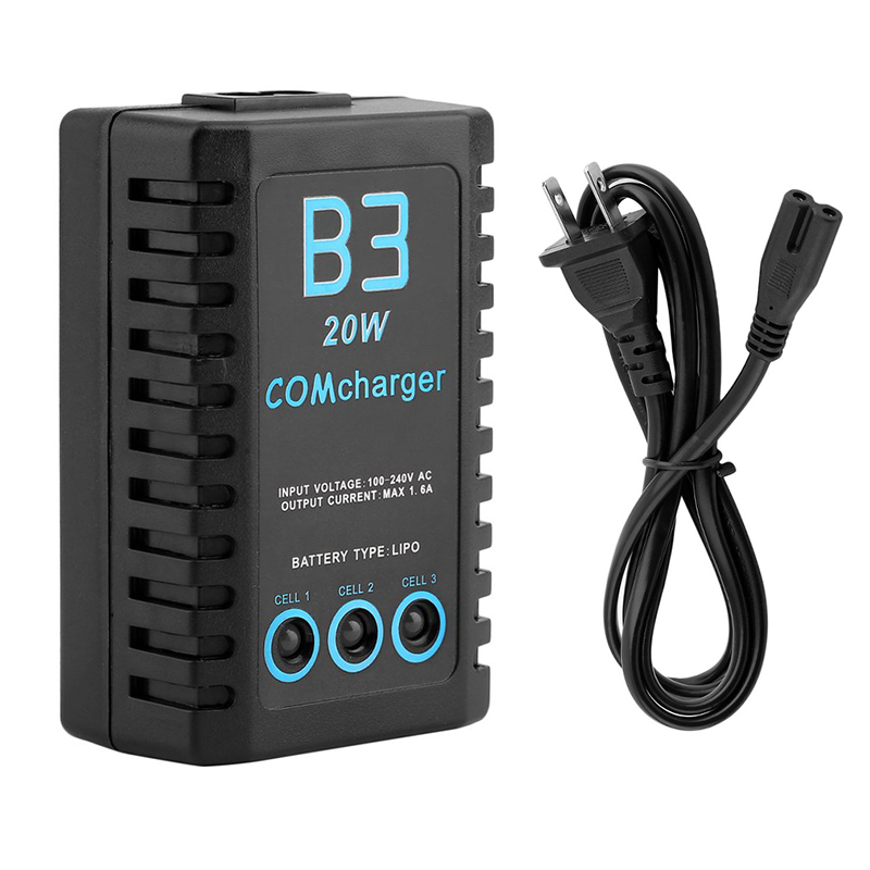 20W 1 6A Compact Battery Balance Charger Lightweight For RC Cars font b Drone b font