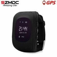 CHAUDE Q50 montre Smart watch Enfants Enfant Montre-Bracelet GSM GPRS GPS localisateur Tracker Anti-Perte Smartwatch Enfant Garde pour iOS Android pk Q90