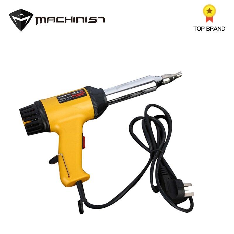 500 W numérique Portable en plastique pistolet à chaleur soudage torche température réglable bouton poche Auto voiture outils Hotair pistolet