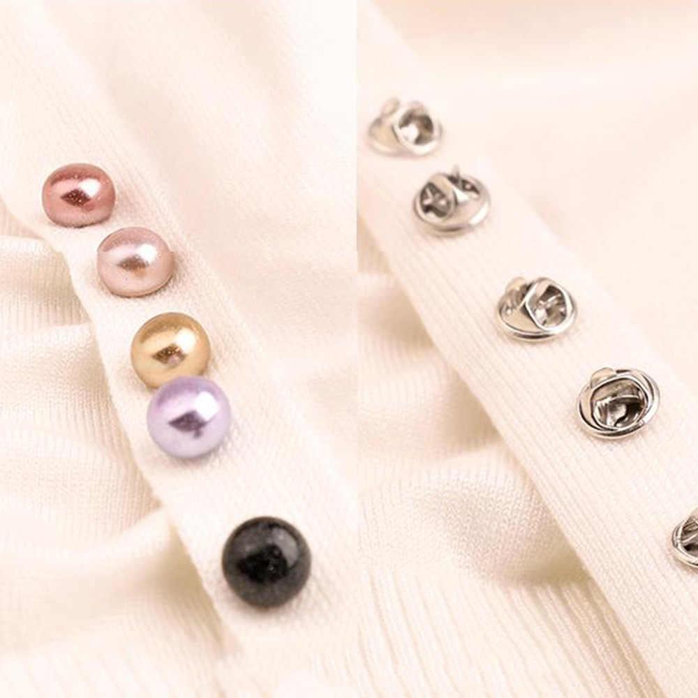 10 Pcs Spilla Set Colourful Risvolto Spille Maglione Della Camicia Spille Spille Accessori di Abbigliamento Gioielli Spille per Le Donne