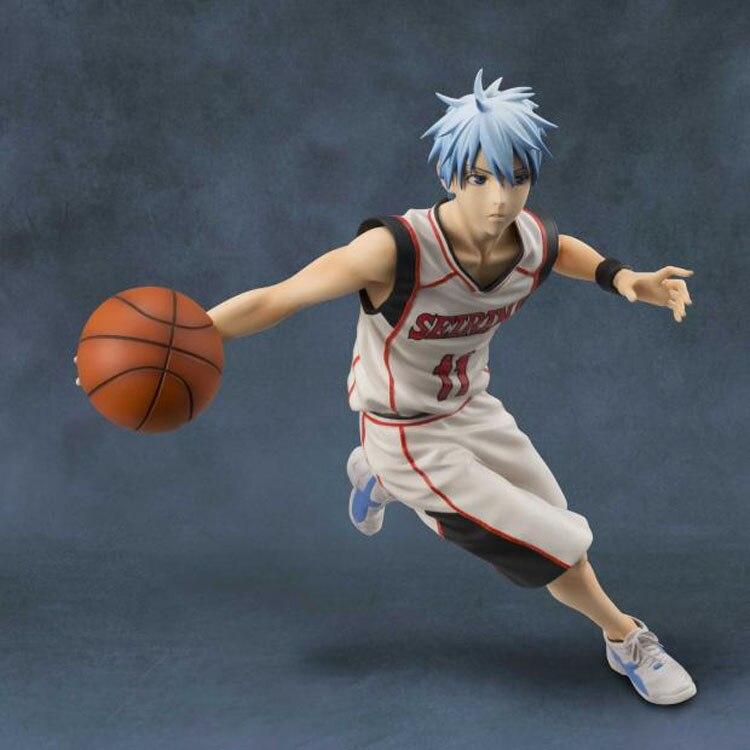 anime figure 19cm Kuroko no Basket Kuroko Tetsuya Slam Dunk Black Player Toys PVC Action Figure JP Anime brinquedos