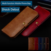 PU Leather Bag For Apple IPhone X 8 8 Plus Mobile Phone Bag IPhone 7 7