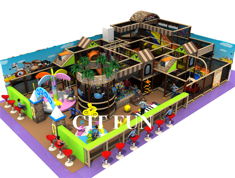 Ihram Kids For Sale Dubai: CE Certified Kids Indoor Playground , Naughty Castle For