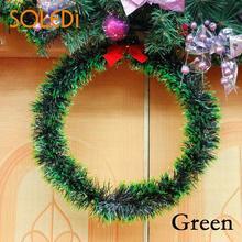 Versatile Garland Hanging Decor Christmas Garland Ornament Christmas Wreath Decoration Wreath Door Decor Cute Bow Light Weight