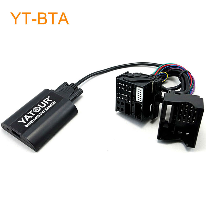 Yatour BTA Car Bluetooth Adapter Kit for Factory Head Unit Radio for BMW E39 X3 X5 Z4 Z8 for Range Rover for MINI R5x yatour car digital music cd changer aux mp3 sd usb adapter 17pin connector for bmw motorrad k1200lt r1200lt 1997 2004 radios