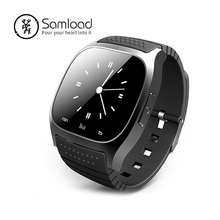Samload M26 Smart Watch  Bluetooth Music Player Pedometer Call SMS Remind For Samsung Android Phone IOS IPhone 7 Plus xiaomi