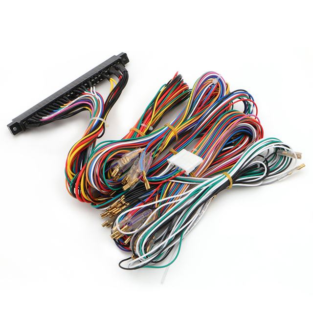 Arcade Jamma Board Machine Wiring Harness 60 in 1 Harness Arcade DIY Kit Parts_640x640 jamma wiring harness kib micro monitor wiring diagram \u2022 free wire harness supplies at crackthecode.co